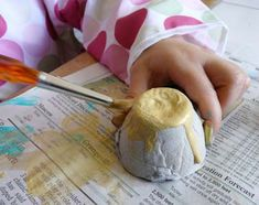 Homemade beeswax crayons, play dough, and fun finger paint!