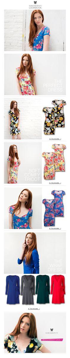 Trots op de nieuwe collectie van Serendipity! Allemaal jurkjes geproduceerd in Nederland en ontworpen door Dresses Only.