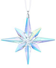 Swarovski Snowflake, Swarovski Ornaments, Crystal Snowflakes, Swarovski Crystals, Swarovski Crystal Figurines, Large Christmas Ornaments, Clear Ornaments, Christmas Crafts, Star Wars