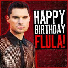 It takes a real man to rock mesh. Happy birthday Flula! #PitchPerfect2 #DSM