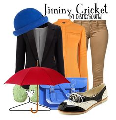 """""""Jiminy Cricket"""" by leslieakay ❤ liked on Polyvore featuring Monkee Genes, McQ by Alexander McQueen, Rebecca Collins, Wallis, The Leather Satchel Co., Charlotte Russe, Disney and River Island"""