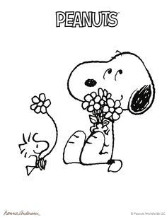 Camp Beagle Is Back Peanuts Coloring Pages