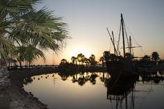 Muelle de las Carabelas, en Palos de la Frontera, para comprender los viajes de Colón.