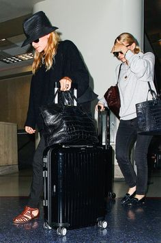 13 Celebrity Airport Outfits to Inspire You This Fall via @WhoWhatWear