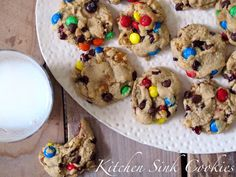 the best cookies ever! my daddy's kitchen sink cookies