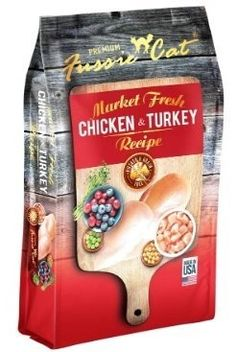 Fussie Cat Dry Cat Food Bag ChickenTurkey 10 ** Be sure to check out this awesome product.