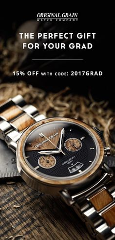 The perfect gift for the hard-working graduate, our watches tell a unique story and showcase craftsmanship built to last.