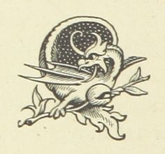 Image taken from page 110 of '[Rambles round Old Canterbury ... With illustrations.]' | by The British Library dragon