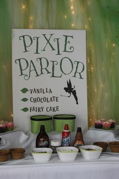 Tinkerbell - pixies and pirates party