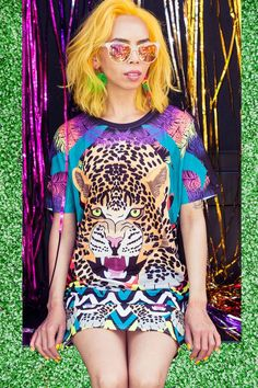 On The Prowl Leopard T Shirt