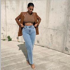 Black Girl Fashion, Look Fashion, Fashion Killa, Cute Casual Outfits, Casual Chic, Stylish Outfits, Looks Street Style, Looks Style, Outfits Mujer