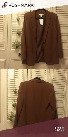 ✨NWT Brown H&M Blazer✨ NWT Brown H&M Blazer H&M Jackets & Coats Blazers
