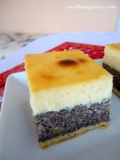 Chocolate and pear crumble cake - HQ Recipes Polish Desserts, Polish Recipes, Cookie Desserts, No Bake Desserts, Food Cakes, Cupcake Cakes, Baklava Cheesecake, Cake Recipes, Dessert Recipes