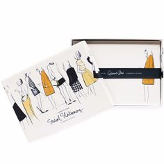 Friends Social Stationery Flat Note Cards by Garance Dore for Rifle Paper Co. Friends Social Stationery Cards by Rifle Paper Co. Includes a set