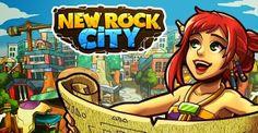 New Rock City é um novo jogo de construção de cidades para o Facebook onde você começa com uma cidade pré-histórica.