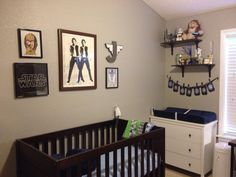 Star Wars nursery- pretty sure my husband would love this