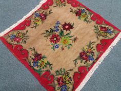 Excited to share the latest addition to my shop: Turkish small rug Vintage rug Handmade rug Small rug Door. Handmade Rugs, Handmade Items, Handmade Gifts, Kilim Pillows, Kilim Rugs, Boho Decor, Bohemian Rug, Small Rugs, Rugs On Carpet