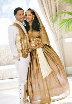 Ethiopian wedding.