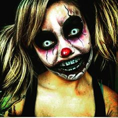 warning these horrifying cosplays will give you the scariest  halloween face halloween makeup psychotic clowns