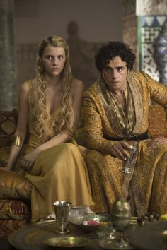 Nell Tiger Free & Toby Sebastian - playing Myrcella Baratheon & Trystane Martell - on Game of Thrones - Nell Tiger Free, Dessin Game Of Thrones, Arte Game Of Thrones, Movies And Series, Hbo Series, Series Premiere, Jon Snow, Winter Is Here, Winter Is Coming
