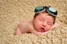 Newborn photography #swimming #swimmer #goggles #props #photographer #baby www.photographybydhm.com