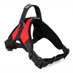 Adjustable Nylon Dog Harness with Handle and Breathable Liner