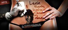 Lenin Vicente, la piel es el lienzo del alma http://promoviendoteperu.com/cultural/item/2502-lenin-vicente-la-piel-es-el-lienzo-del-alma.html