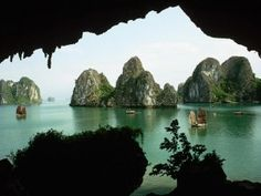 Another enchanting place....Halong Bay, Vietnam