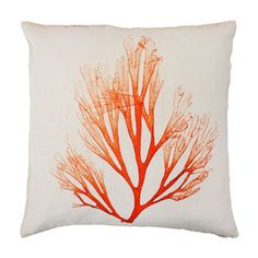 Love this algae print cushioun. Works perfect with the colour scheme I have in mind for our living room.