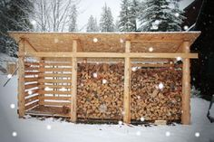 nice Preparing for Power Outages on the Homestead, Part 1 – Homesteading and Livestock – MOTHER EARTH NEWS Read More by carolelalonde Outdoor Firewood Rack, Firewood Shed, Firewood Storage, Shed Storage, Water Storage, Mother Earth News, Building A Shed, Shed Plans, Woodworking Projects Plans