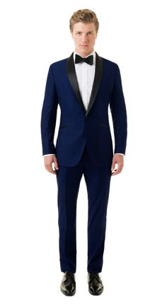 BlackLapel | Solid Royal Blue Tuxedo