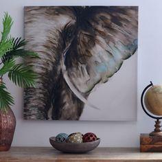 Product Details Elephant Watercolor Canvas Art Print, Elefant Aquarell Leinwand Kunstdruck, 30 x 30 Watercolor Canvas, Acrylic Canvas, Watercolor Design, Elephant Watercolor, Watercolor Paintings, Painting Art, Watercolor Tips, Watercolor Techniques, Painting Tips