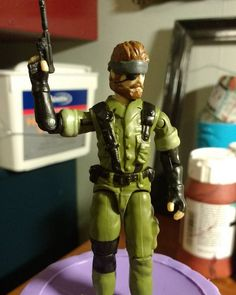 Custom action figures by Stolf - Solid Snake G.I. Joe
