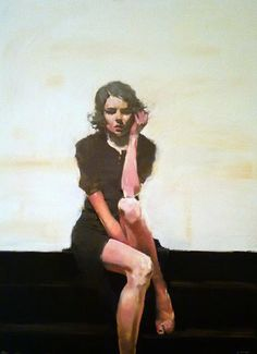 Kind of in love with this painter: Michael Carson, and then I see his actual work when walking around in Carmel, CA.  Kismet? I think so.