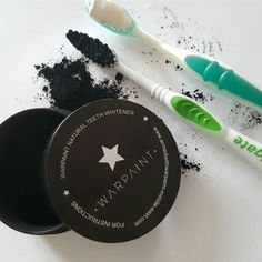 Warpaint  BLACK CHARCOAL POWDER THAT WHITENS AND SHINES YOUR TEETH NATURALY. NO CHEMICALS  NO MORE YELLOW TEETH  just brush for 2 min  cheers!!!! by armedwithwarpaint_middleeast Our Teeth Whitening Page: http://www.myimagedental.com/services/cosmetic-dentistry/teeth-whitening/ Other Cosmetic Dentistry services we offer: http://www.myimagedental.com/services/cosmetic-dentistry Google My Business: https://plus.google.com/ImageDentalStockton/about Our Yelp Page…