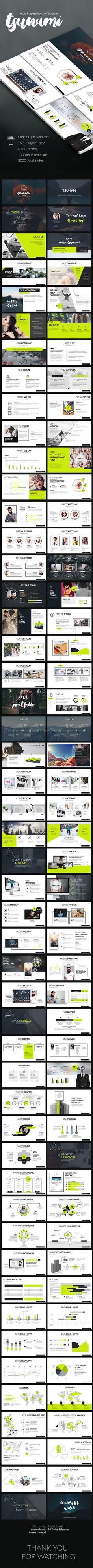 Tsunami Keynote Presentation — Keynote KEY #fancy #design • Download ➝ https://graphicriver.net/item/tsunami-keynote-presentation/19160502?ref=pxcr