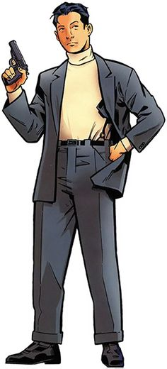 Jimmy Woo- Marvel Comics