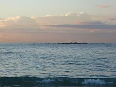 early morning beach