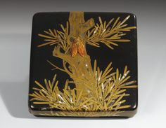 A LACQUER WRITING BOX AND COVER (SUZURIBAKO) SIGNED JOKASAI, JAPAN, EDO PERIOD, 18TH CENTURY