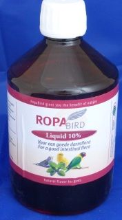 For Drier droppings, Healthier birds & Superb feather condition Recommended dosage 1.5ml per ltr drinking water