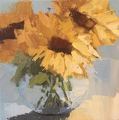 Sunny Sunflowers by Angela Nesbit