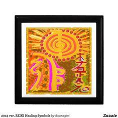 2013 ver. REIKI Healing Symbols Keepsake Box