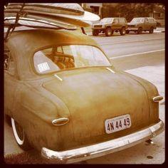 vintage surf vehicle