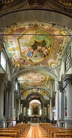 Vallombrosa Abbey, in Tuscany province of Florence