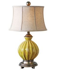 Uttermost Table Lamp, Pratella - Table Lamps  Macy's