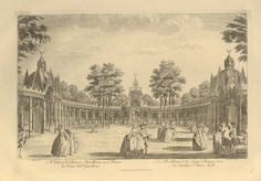 Vauxhall Gardens Chinese Pavillions and Boxes