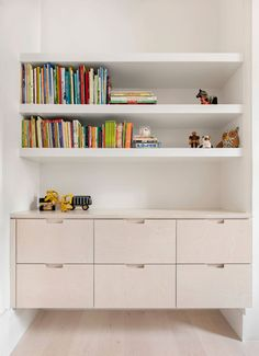 Built-in furniture and shelving