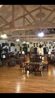Talk about a trophy room! #backwoodslife #hunting #outdoors #realtreelife #taxidermy #hunter