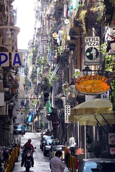 Quartieri Spagnoli, Napoli, Italy. I'd love to actually see Napoli since we were only there for a couple hours, but I hear so many horror stories of how dangerous it is!