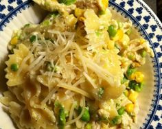 Pasta with Peas and Cheese Sauce Recipe | The Daily Meal